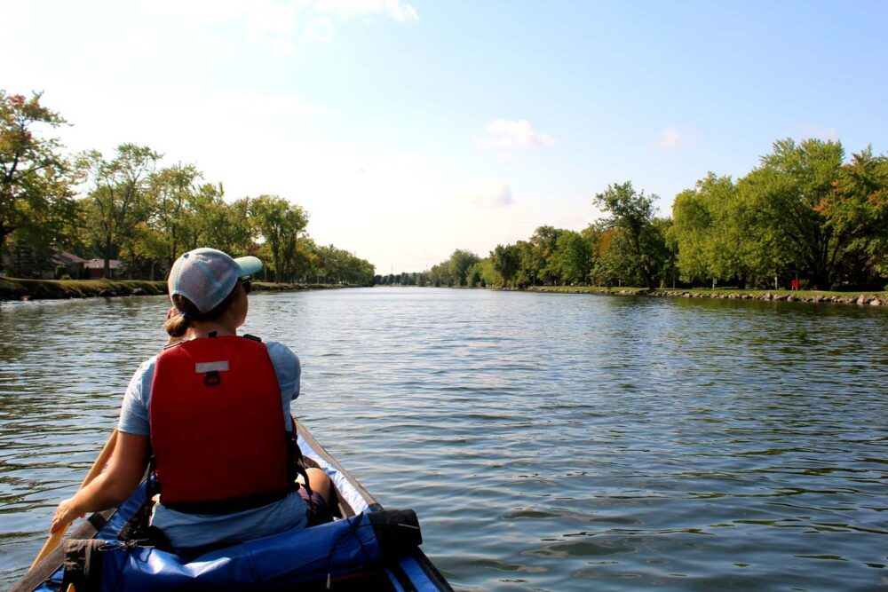 paddling the trent severn ontario