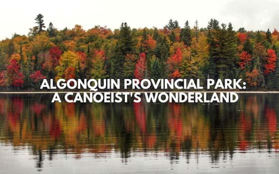Algonquin Provincial Park_ A Canoeist's Wonderland