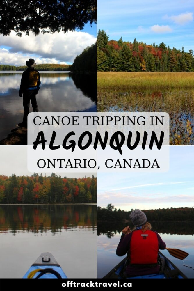 Algonquin Provincial Park features over 1,200 backcountry campsites on an intricate waterway system with more than 2,000 lakes and over a thousand kilometres of rivers. If you like paddling, this is the place to be. Click here to read our experience and use the planning guide to prepare for your own Algonquin adventure! offtracktravel.ca