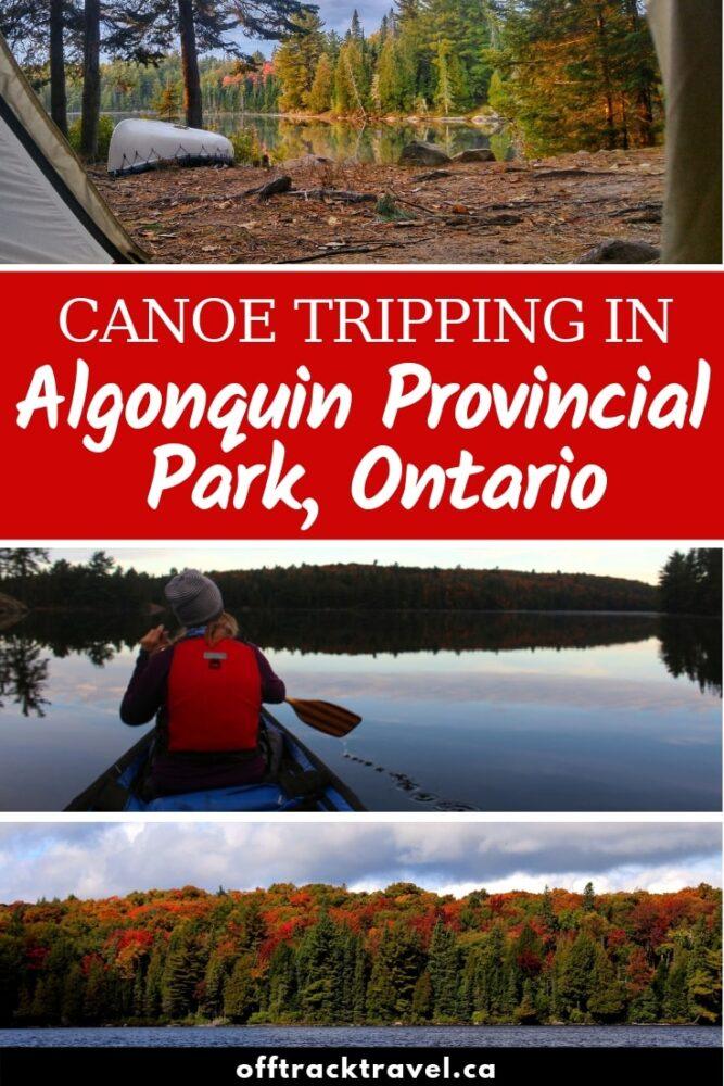 Algonquin Provincial Park, Ontario – A Canoeist's Wonderland