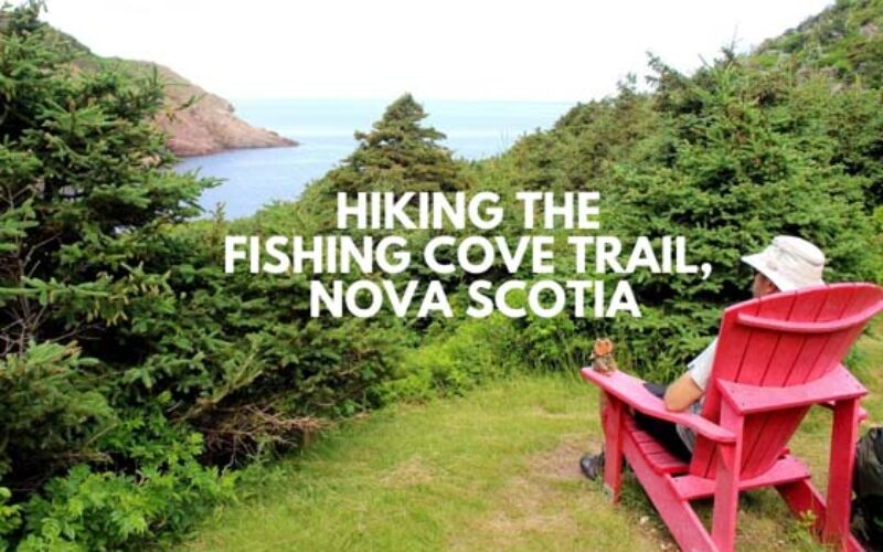 Hiking the Fishing Cove Trail, Cape Breton, Nova Scotia
