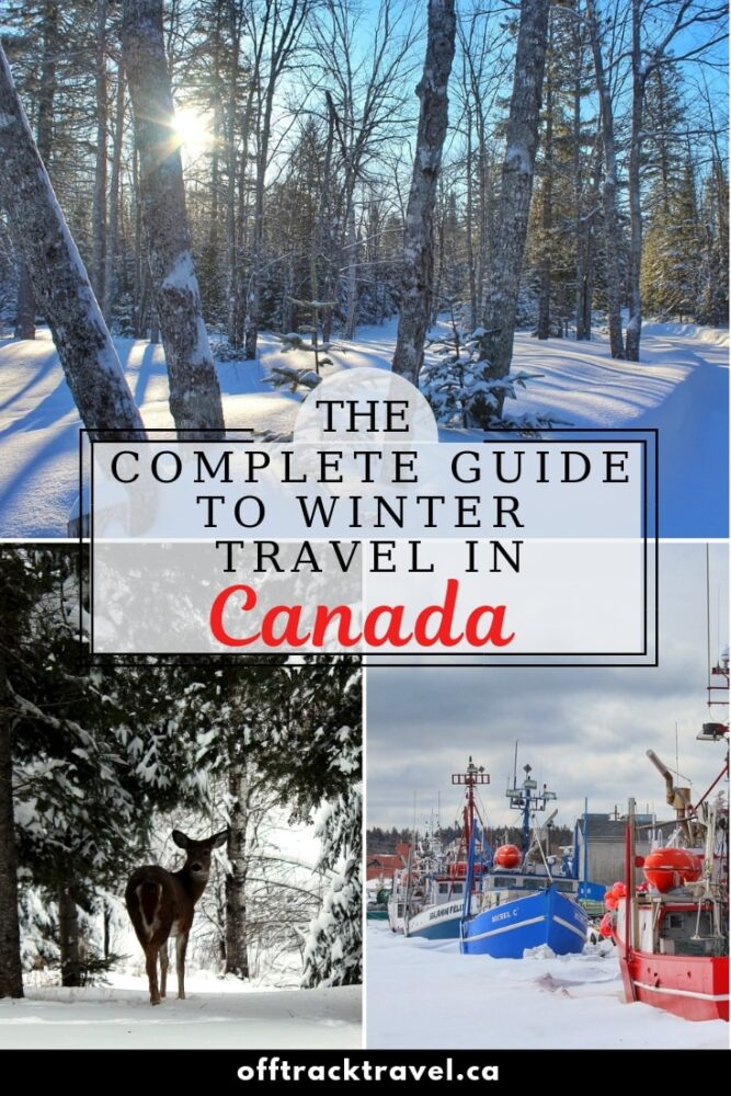 Travelling Canada in winter is beautiful and endlessly rewarding. Few people take up the opportunity, leaving the winter wonderland of Canada untouched and uncrowded. Winter travel in Canada doesn't come without challenges, however. Seven winters in Canada have taught me a trick or two to avoid the main difficulties and this guide will help you enjoy the best this season has to offer as well. offtracktravel.ca