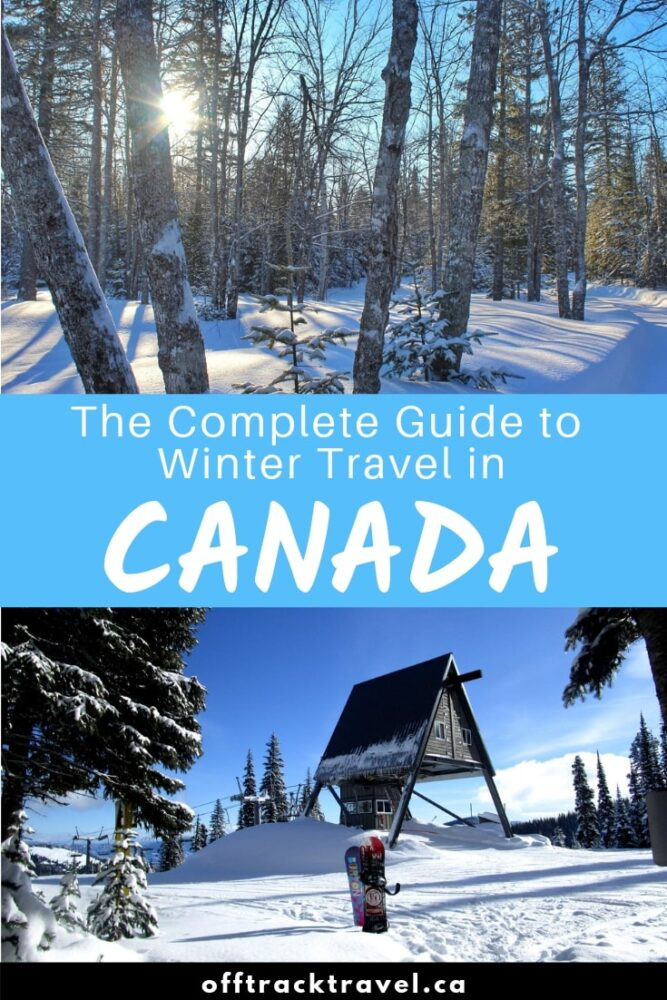 Travelling Canada in winter is beautiful and rewarding. It is not, however, without challenges. Click here to discover how to overcome these difficulties alongside winter driving tips and a round up of the best places to visit in Canada in winter. offtracktravel.ca