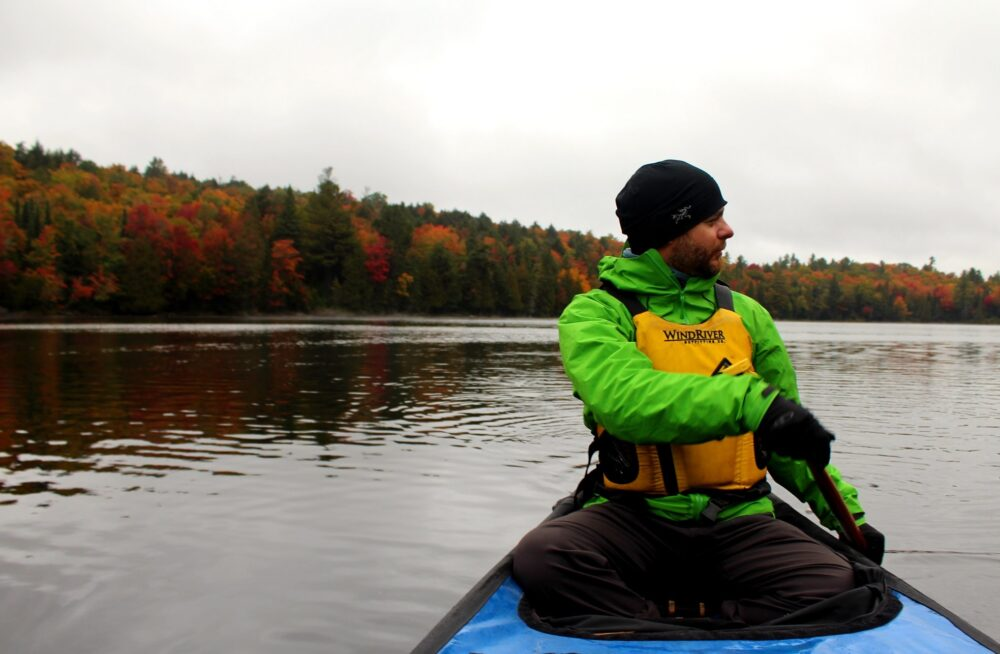 jr paddling algonquin provincial park