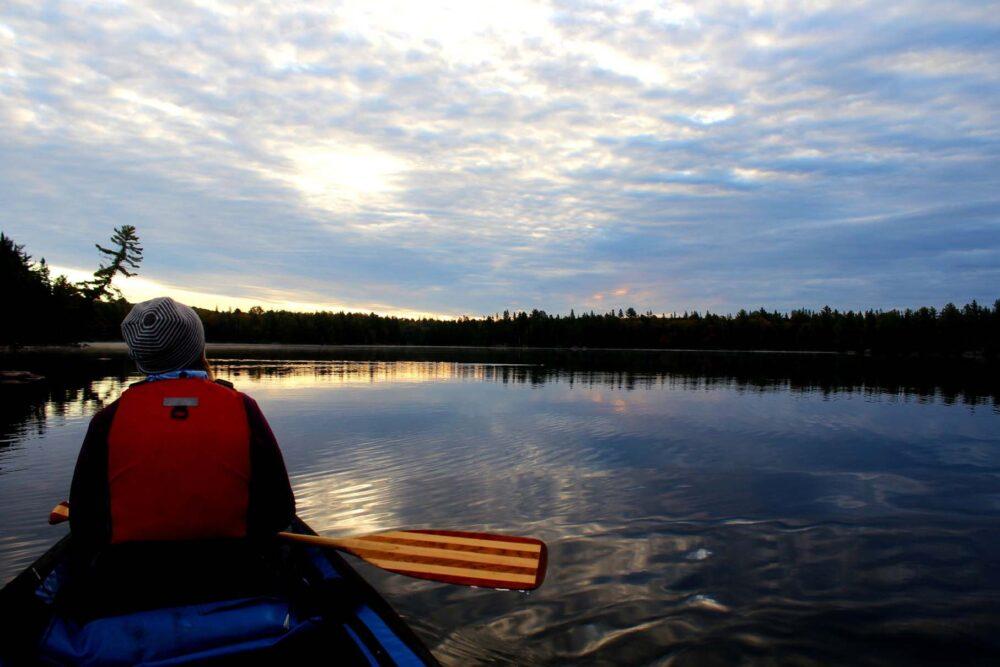 littledoe lake dawn gemma algonquin provincial park