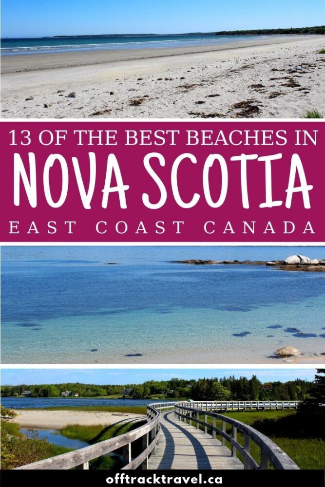 Nova Scotia, Canada, has over 7000km of shoreline (more if you include the islands too!) which means hundreds of amazing beaches. We spent seven weeks travelling the length of this beautiful province to find the best. Here is our shortlist of the best beaches in Nova Scotia. offtracktravel.ca