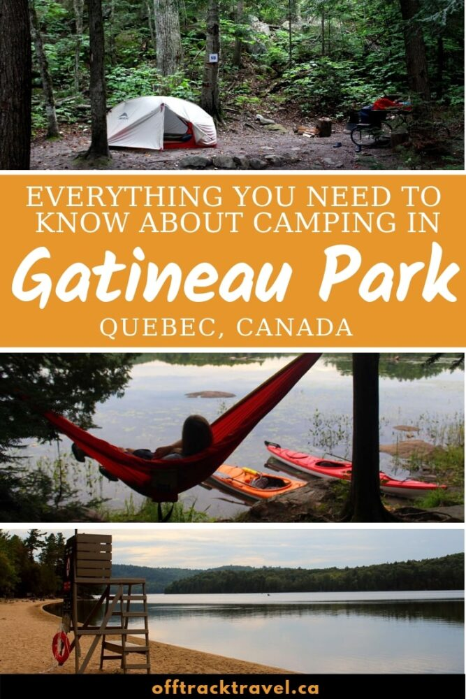 Just a short fifteen minute drive away from downtown Ottawa, Gatineau Park is something of an oasis. Offering a taste of the wilderness for city residents and visitors alike, it is a perfect place to go camping and get away from it all. Click here for a complete guide to camping in Gatineau Park, Quebec, Canada