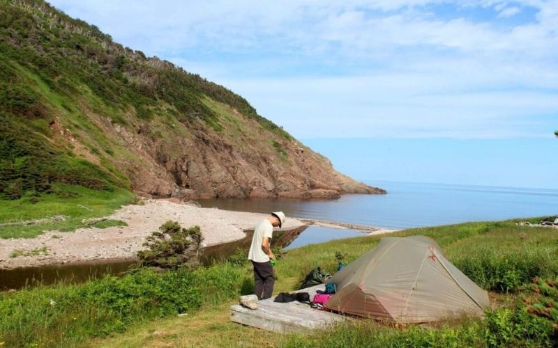 Hiking the Fishing Cove Trail, Cape Breton, Nova Scotia