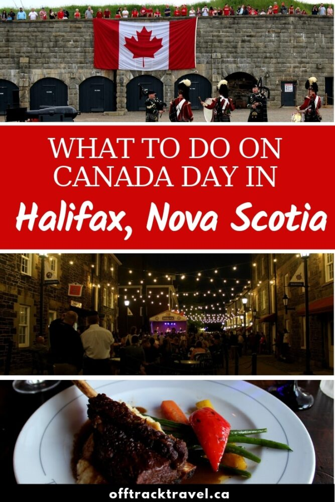 Planning to be in Halifax, Nova Scotia, for Canada Day? Read this for the lowdown on Canada Day festivities in the city plus other things to do during the summer in Halifax! offtracktravel.ca