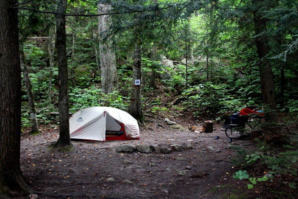 lac la peche canoe camping gatineau park