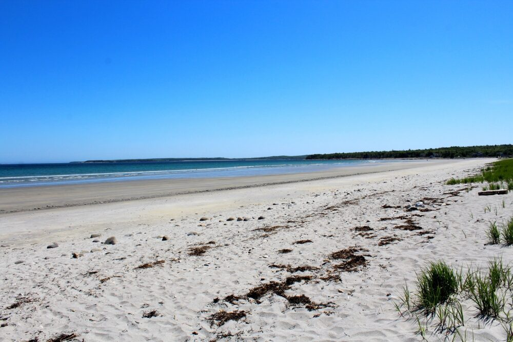 the golden sands of summerville beach - one of the best beaches in nova scotia