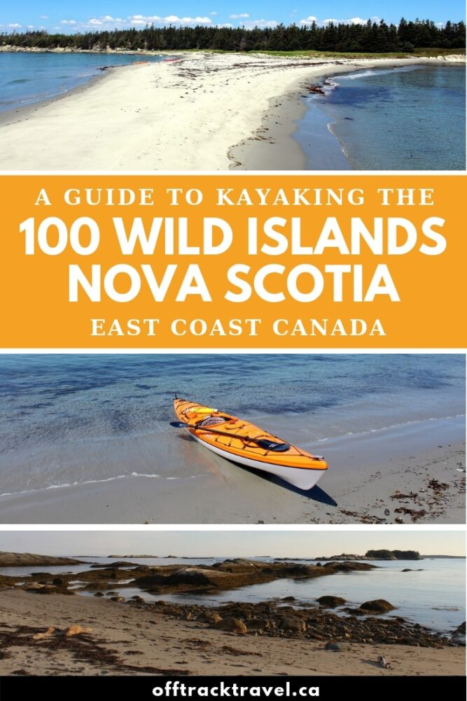 Pristine, turquoise water fringed with soft, golden sand beaches and lush rainforest. A group of wild, remote islands, some entirely inhabited by birds. It sounds like somewhere a little more exotic than Canada doesn't it? But the 100 Wild Islands archipelago is located just off Nova Scotia's Eastern Shore. It's an ideal place for a kayak trip! Click here to discover more. offtracktravel.ca