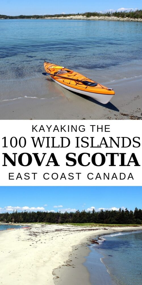 The 100 Wild Islands is a little piece of paradise in Nova Scotia. With pristine beaches and lots of little bays to explore, the 100 Wild Islands is an ideal kayaking destination. Read on for our own experience plus a guide to help you plan your own 100 Wild Islands kayaking trip. offtracktravel.ca