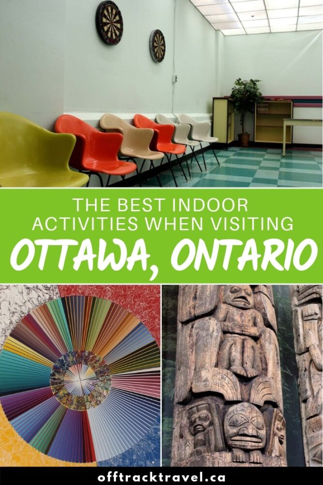 As well as being one of Canada's most approachable cities, Ottawa is also a fantastic place to visit year round. The reason is simple; there are so many indoor activities in Ottawa for bad weather days! Here are my top picks, ranging from historical places and museums to jail tours and a top secret military bunker! offtracktravel.ca