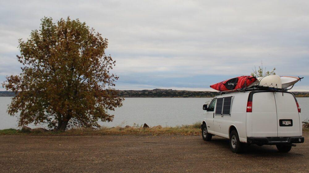 missouri river camping spot south dakota