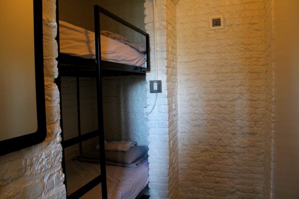 ottawa jail hostel twin room