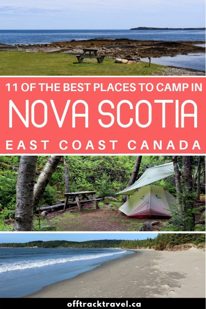 In our quest to find the best Nova Scotia campgrounds, we spent seven weeks travelling and camping our way through this deceptively big province. We racked up thousands of kilometers on the road, to find as many awesome camping options as we could. There are our top picks for the best Nova Scotia campgrounds plus all of the essential info you need to stay at each one! offtracktravel.ca