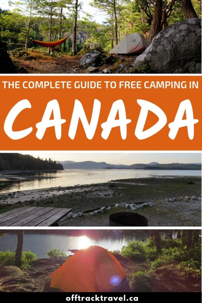 Whether you use a van, RV or tent, there are so many opportunities to find free camping in Canada. Discover the secret of finding free camping options from Canadian camping veterans with seven years of experience! offtracktravel.ca