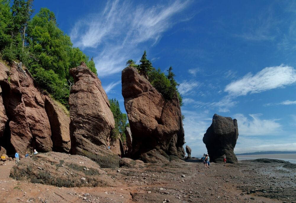 Flowerpot rocks at Hopewell Rocks