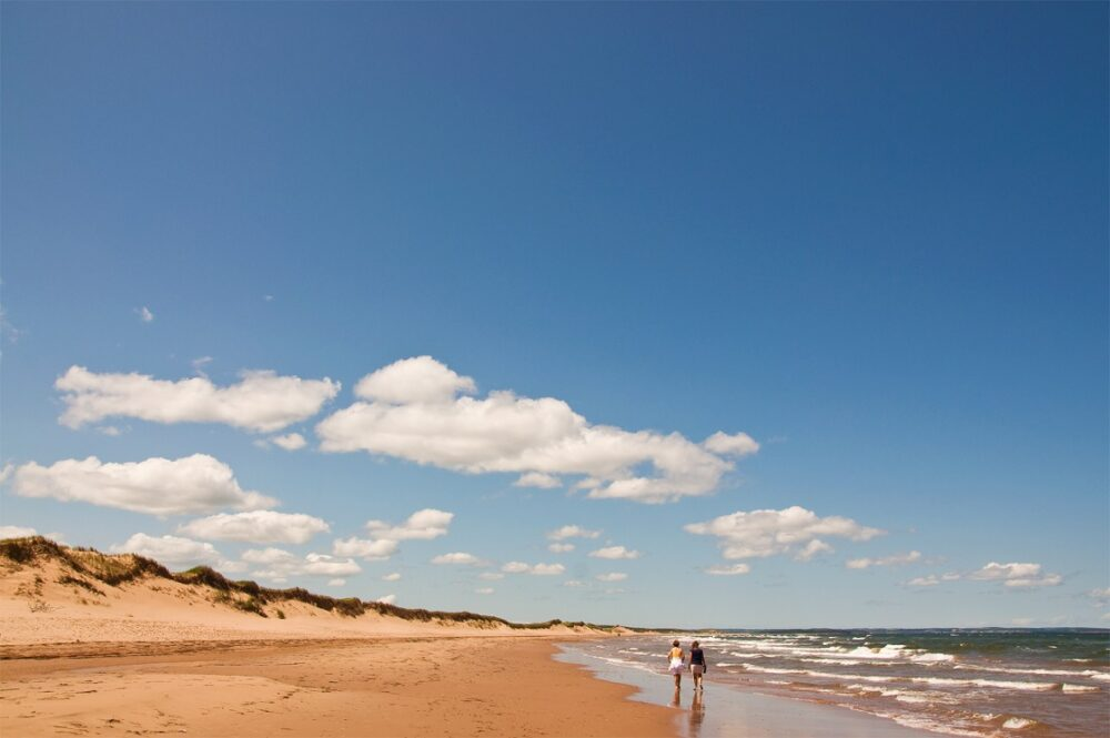 Golden shores of Brackley Beach, PEI