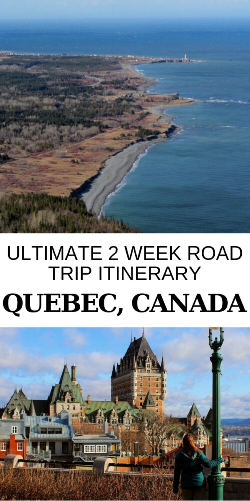 Thinking of visiting the coastal side of Québec and you only have two weeks to do it? I have the perfect coastal Québec road trip itinerary for you! It has an unbeatable mix of nature, history, culture and outdoor adventure. Click here to read more! offtracktravel.ca