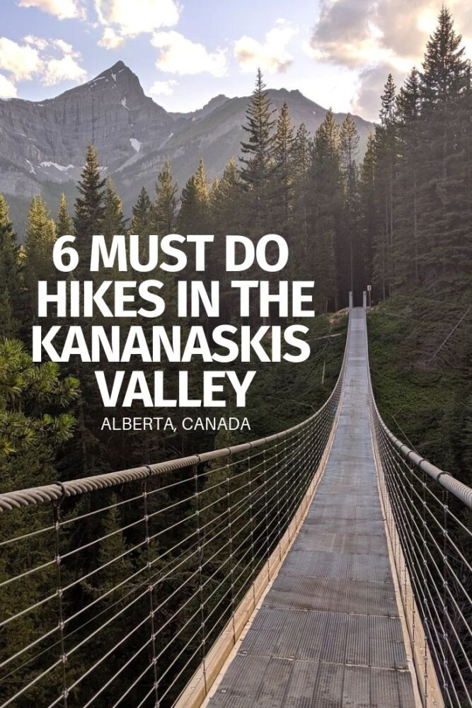 The Kananaskis Valley has mountain panoramas to rival neighbouring Banff National Park yet none of the crowds, fees and theme park vibe to go along with it. Mount Engadine Lodge provides an ideal base to discover a range of Kananaskis Valley hikes. Here are six must do hikes! offtracktravel.ca