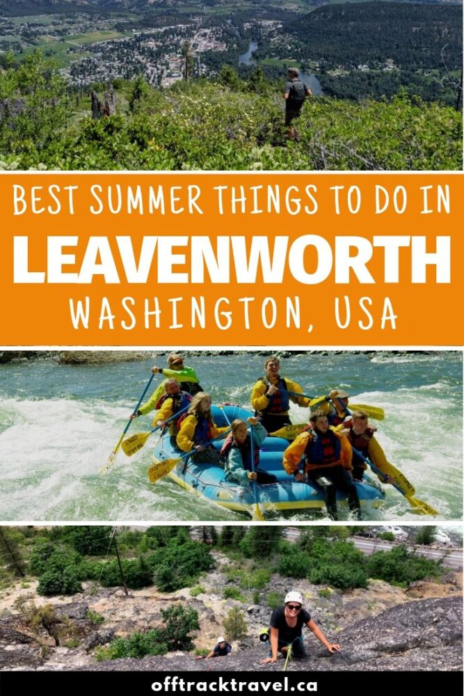 Perched on the banks of the Wenatchee river and surrounded by mountains, the small town of Leavenworth (Washington, USA) naturally exudes outdoor activities from every valley. Click here to discover the best things to do! offtracktravel.ca