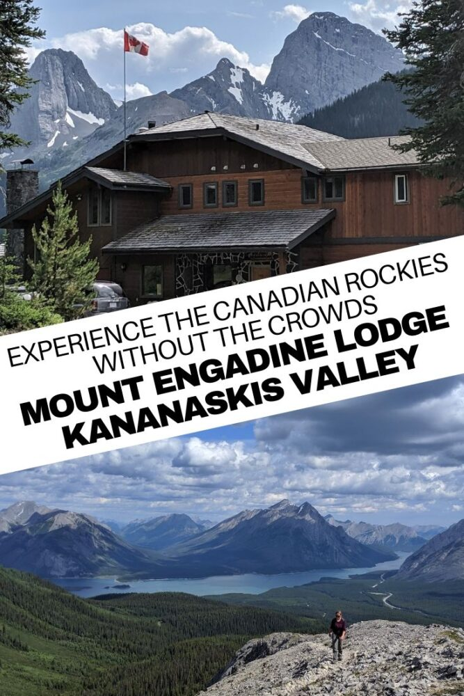 Imagine a place with all of the incredible mountain vistas of Banff National Park but none of the mass tourism. This is Alberta's Kananaskis Valley and the best way to explore is from Mount Engadine Lodge, a road accessible wilderness lodge with all the comforts of civilisation. Click here to more info! offtracktravel.ca