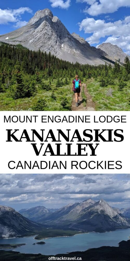 Want the beauty of Banff National Park without the crowds? You need to go to Alberta's Kananaskis Valley and go hiking from spectacular Mount Engadine Lodge. Click here for more info! offtracktravel.ca