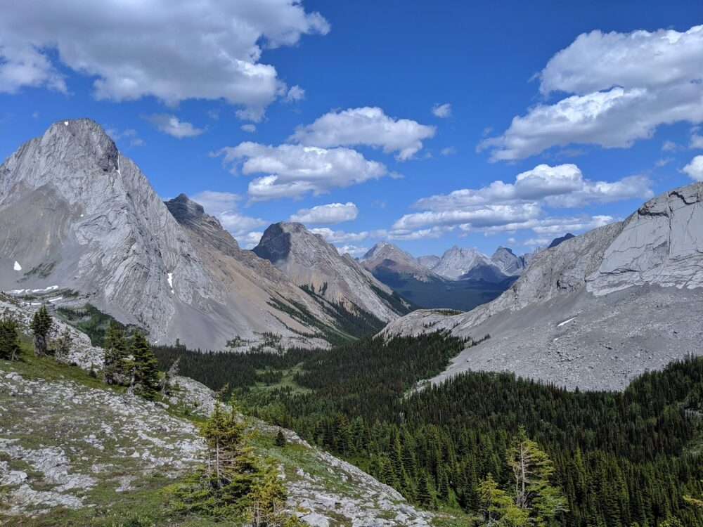 Another mountainous view from the Burstall Pass hike, Kananaskis Valley