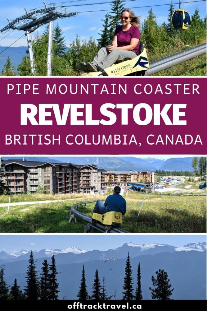 The 1.4km Revelstoke Mountain Coaster is an exhilarating ride like no other in British Columbia, Canada. Click here to discover everything you need to know about this unique activity located almost half way between Vancouver and Calgary. offtracktravel.ca