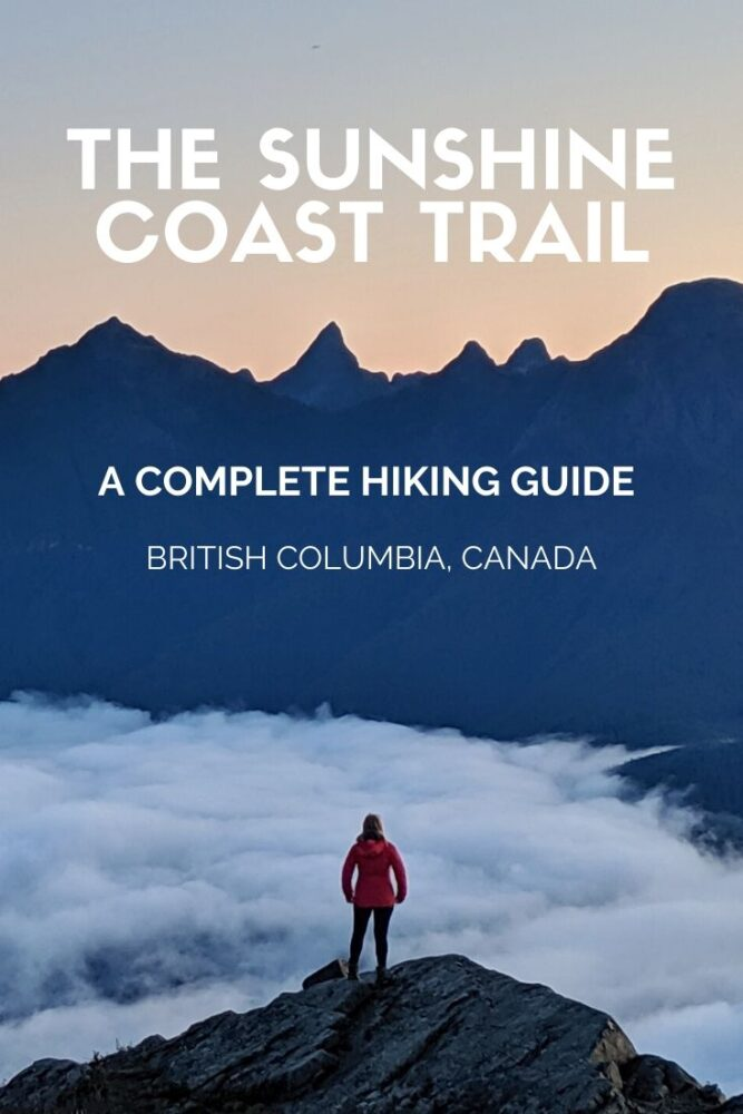 The Sunshine Coast Trail is a magnificent free hut-to-hut hiking path in south-west British Columbia, Canada. The path takes in coastal scenery, lakes, waterfalls, old growth forest, mountain peaks and panoramic viewpoints. Click here for more info! offtracktravel.ca