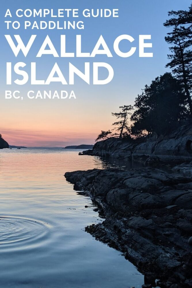 Wallace Island is an idyllic kayaking getaway just offshore Salt Spring Island, British Columbia, Canada. Click here to plan your own trip to paradise with this planning guide! offtracktravel.ca