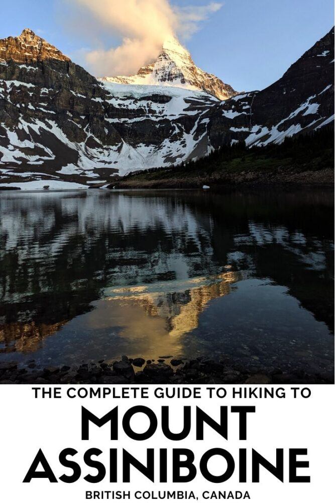 Mount Assiniboine is a jewel in the crown of the Canadian Rockies and a hiker's dream. This comprehensive hiking guide will explain everything you need to know about planning a backpacking trip to this magnificent provincial park in British Columbia. offtracktravel.ca