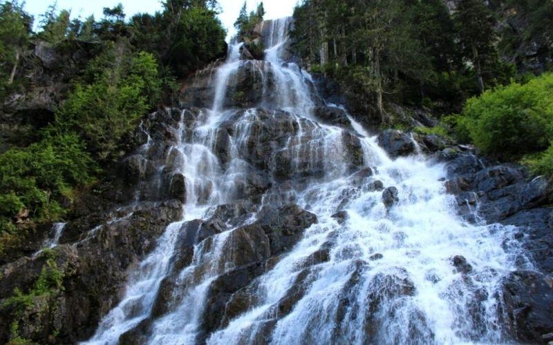 Hiking the Della Falls Trail, Vancouver Island, BC