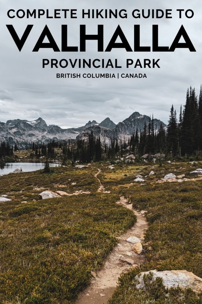 Valhalla Provincial Park, BC - majestic, mysterious and magical all at once, the name of this park alone inspires wonder. Click here to discover a full guide including all hiking trails, campgrounds and more! offtracktravel.ca
