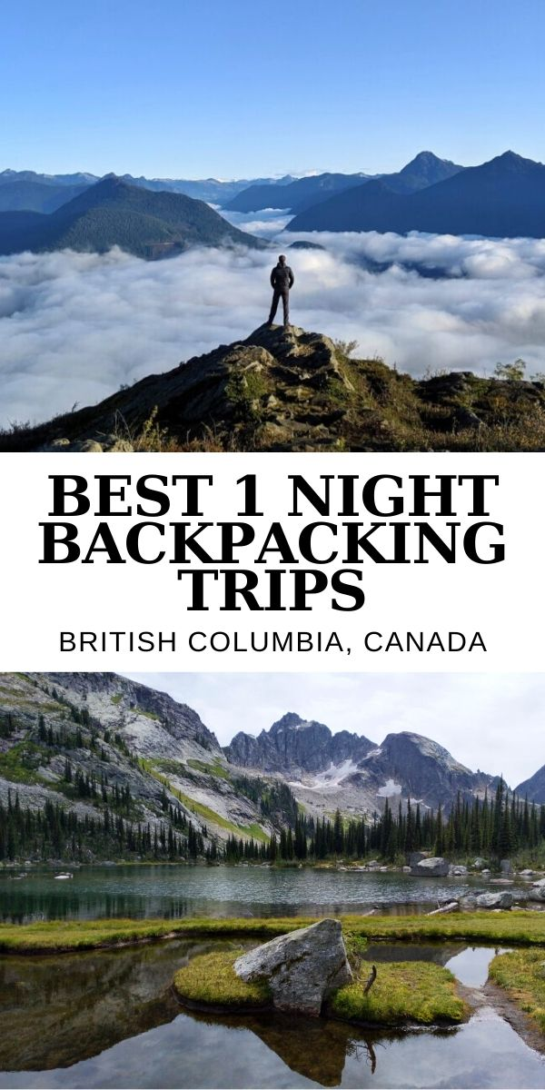 Want to truly experience the raw beauty of British Columbia but can't go far? This post features 20+ short BC backpacking trips of 15km or less, perfect for an overnight adventure! offtracktravel.ca