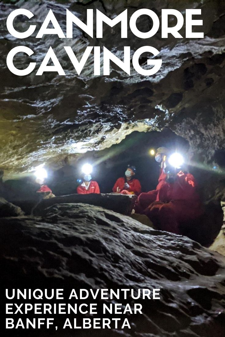 The Banff area has some of the most impressive scenery in Canada but did you know that there's also incredible beauty to be found underground as well? Click here to find out more about our Rat's Nest Cave adventure with Canmore Cave Tours! offtracktravel.ca