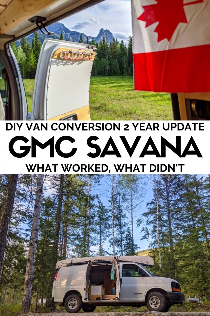 We've travelled over 50,000 kilometres across Canada in our DIY GMC Savana van conversion. Some aspects of the conversion work well while others we had to remove....click here to find out all of the wins and fails from our van conversion so you can avoid making the same mistakes! offtracktravel.ca