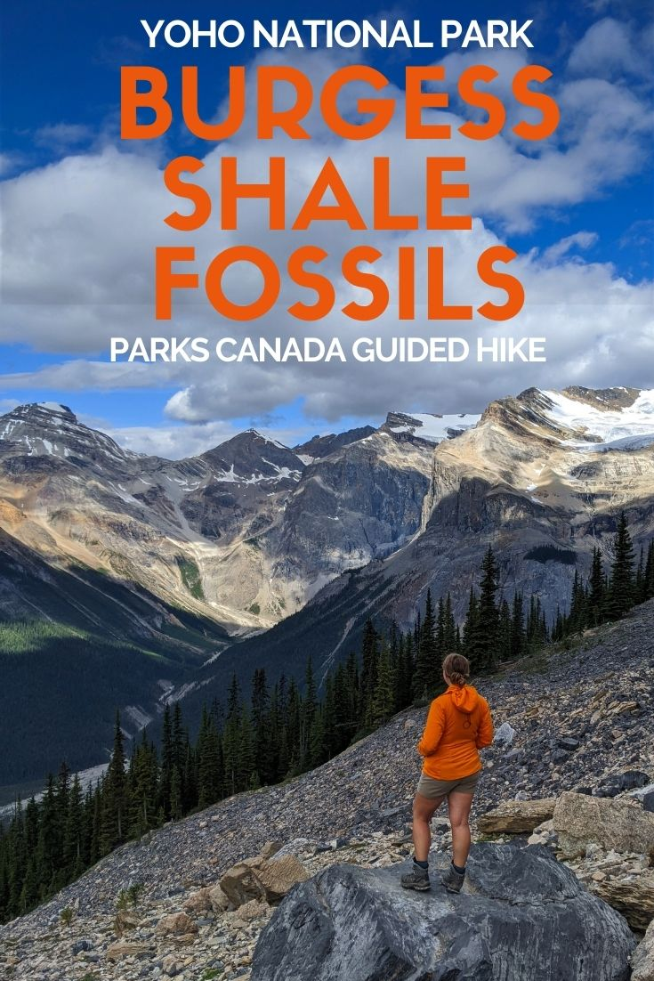 Join a guided Burgess Shale hike to Walcott Quarry to hold half a billion year old fossils - a one of kind experience in Yoho National Park, British Columbia, Canada. Click here to discover everything you need to know!