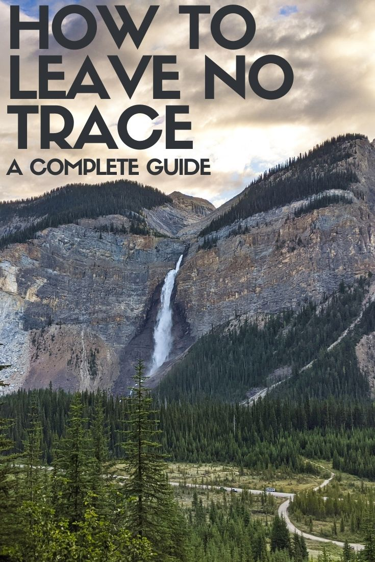 Leave No Trace. It's the closest thing to an ethics code for people exploring the great outdoors. The idea is to minimise our impact on nature as much as possible. This ensures that the beautiful places we love remain pristine and accessible for us as well as future generations. Click here to learn more! offtracktravel.ca