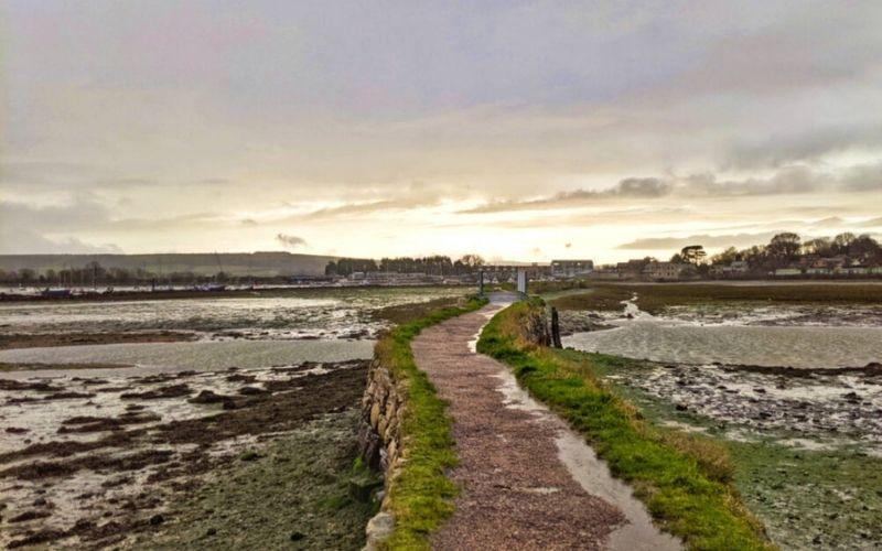 Walking the Isle of Wight Coastal Path, UK