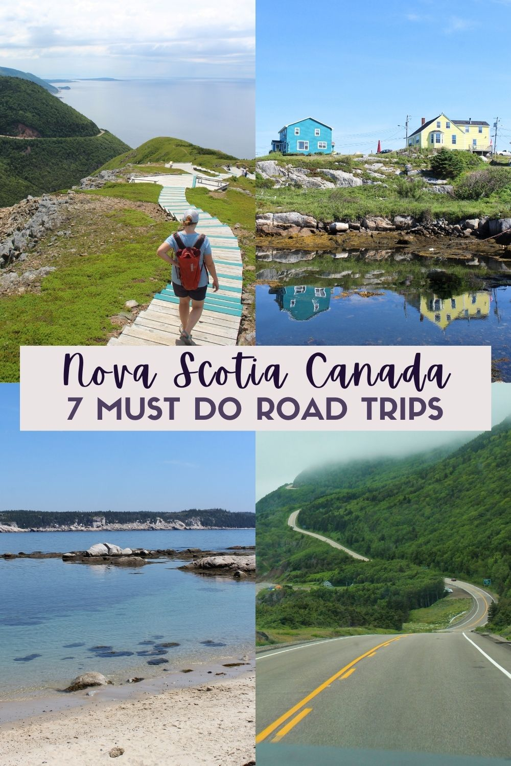 The destination of your next road trip? Nova Scotia, Canada. At least, it should be! Click here to discover seven incredible road trip itineraries in this beautiful province, complete with maps and tips. offtracktravel.ca