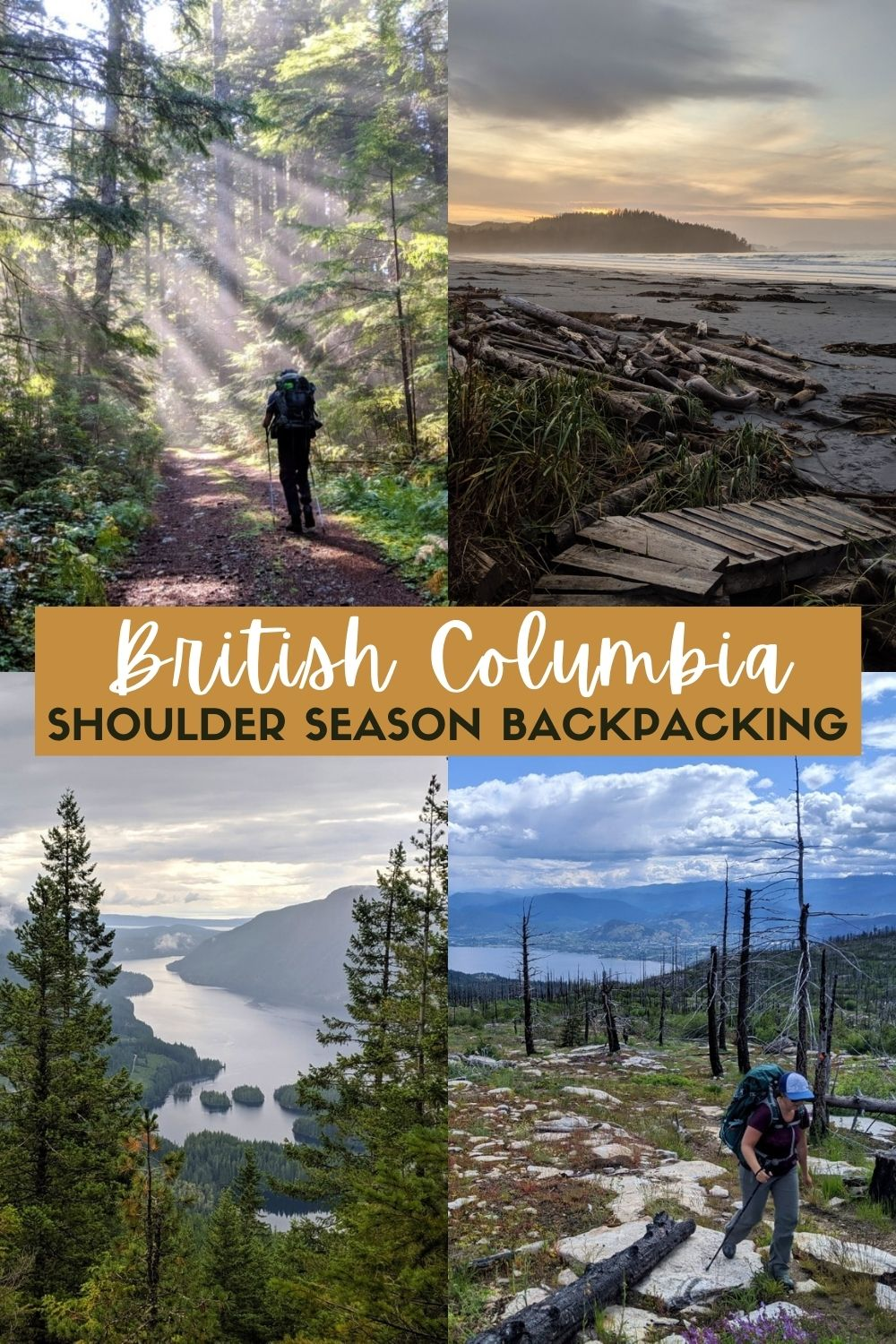 British Columbia is an amazing destination for backpacking but due to the mountainous terrain, it may seem that options for shoulder season are limited. Thankfully, this is not true! Click here to discover as many as 13 amazing shoulder season backpacking trips in BC, Canada! offtracktravel.ca