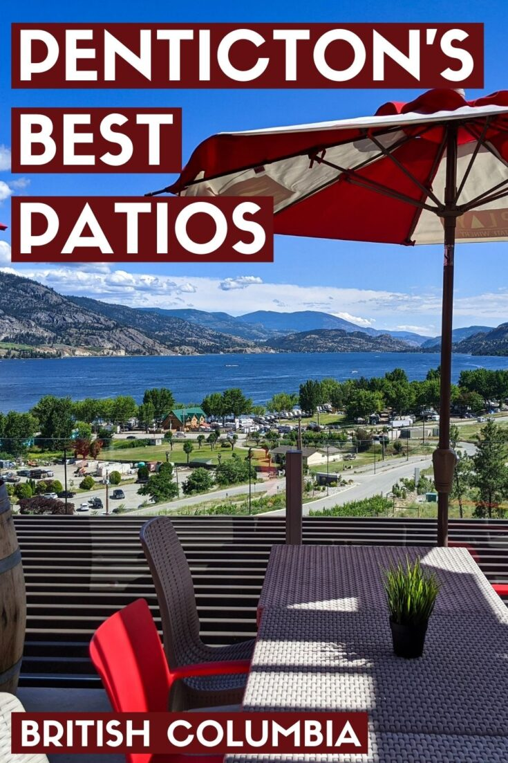 The beautiful Okanagan Valley town of Penticton (British Columbia, Canada) has over 40 eateries with outdoor dining space. Options range from wineries and upscale restaurants to breweries, pubs, coffee shops and more! Click here to discover our top 10. offtracktravel.ca