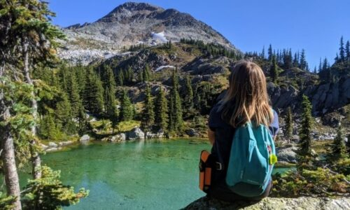 Hiking to Twin Lakes in BC's Monashee Mountains