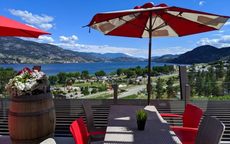 The Best Patios in Penticton, British Columbia