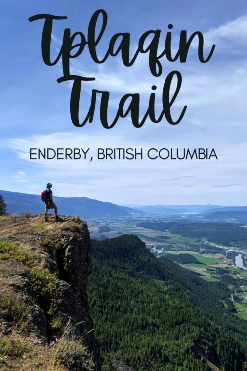 The Tplaqin Trail in Enderby Cliffs Provincial Park offers one of the most impressive hiking experiences in the northern Okanagan, British Columbia. Click here to discover what you need to know to hike this spectacular trail yourself! offtracktravel.ca
