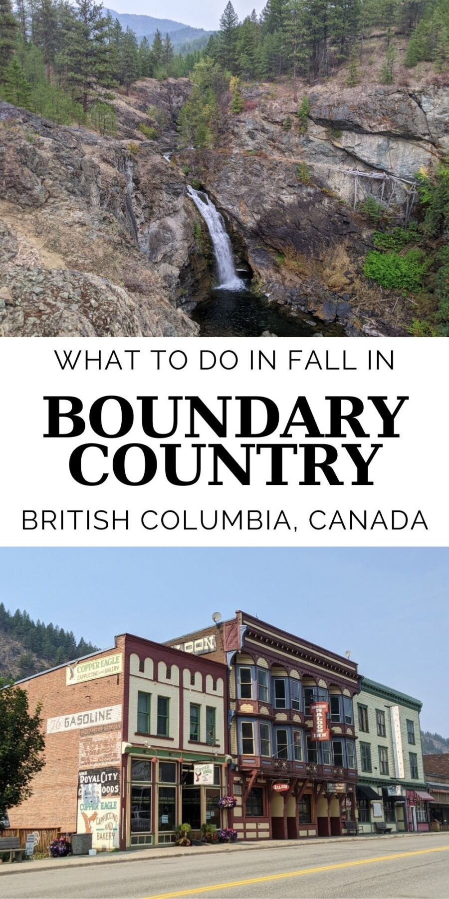 Boundary Country is one of those 'hiding in plain sight' destinations. I knew about it but wasn't sure what was there. And now, after visiting, I know why - people are trying to keep this peaceful paradise all to themselves! This relaxed, scenic region in southern British Columbia is the ideal destination for a fall getaway. And with such wide, open landscapes and unlimited outdoor adventure on offer, that peaceful factor isn't going anywhere anytime soon.